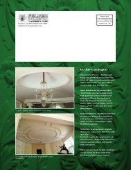 In This Catalogue - Felber Ornamental Plastering Corporation