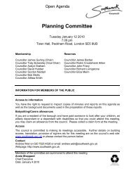 Planning Committee - Meetings, agendas, and minutes - Southwark ...