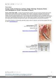 Auction results: Art Nouveau, Art Deco, Design ... - Koller Auktionen