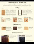 Doors • Drawer FroNTs • Drawer Boxes • CoMPoNeNTs • MolDiNgs ... - Page 6