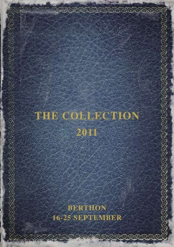 the collection 2011 - Berthon