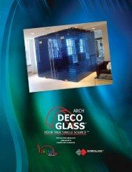 Arch Deco - Roadrunner Glass