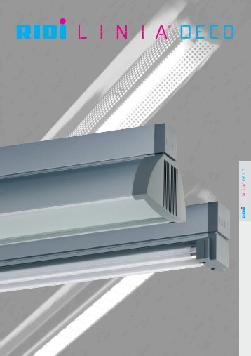 VLDGT/VLDGTA – Continuous lighting system LINIA DECO - RIDI
