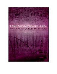Lake Minnetonka Area - Hennepin County, Minnesota