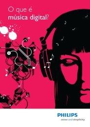 O que é música digital? - Philips