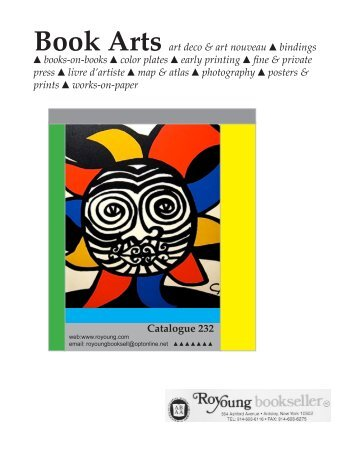 Book Arts art deco & art nouveau bindings books-on-books color ...