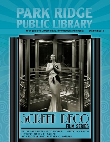 Screen Deco - Park Ridge Public Library