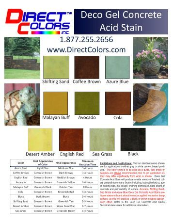 Solid Color Concrete Stain Home Depot
