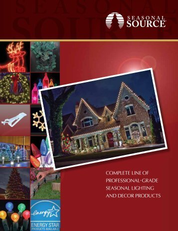 2012 Holiday Lighting Catalog - Reinders.com
