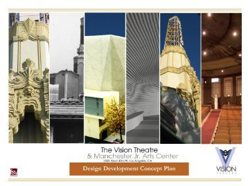 Design Development Concept Plan - Urban Design Center