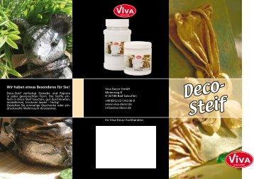 Deco-Steif(368kB) - Viva Decor