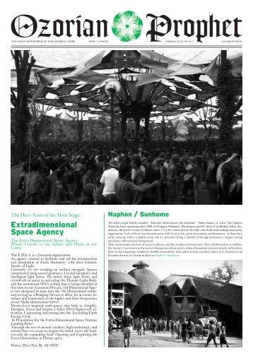 magic garden news - OZORA Festival