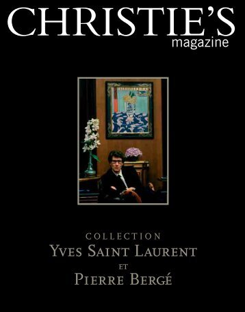 Yves Saint Laurent Pierre Bergé - Christie's