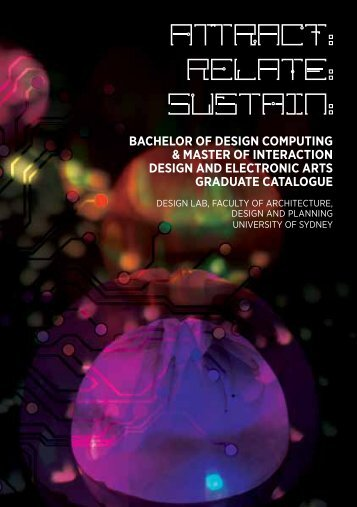 bachelor of design computing & master of interaction design and ...