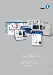 TB-DECO - Tornos