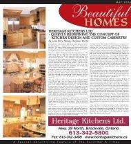 Custom Decor Feature - sample - Heritage Kitchens