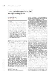 Virus, bakterier og toksiner som biologiske kampstoffer - Z