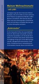 Markt-Flyer - Mainzer Weihnachtsmarkt e.V. - Seite 2