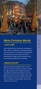 Markt-Flyer - Mainzer Weihnachtsmarkt e.V. - Seite 3