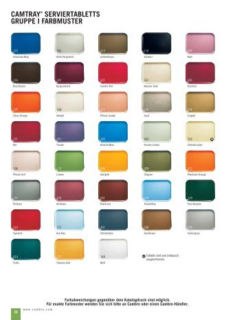 Farbmuster - Loftflor