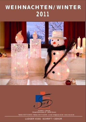 weihnachten/winter 2011 - Voss