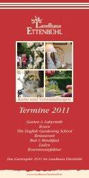 Landhaus Ettenbühl Programm 2011 - Rosen kaufen, Gartenkurse ...
