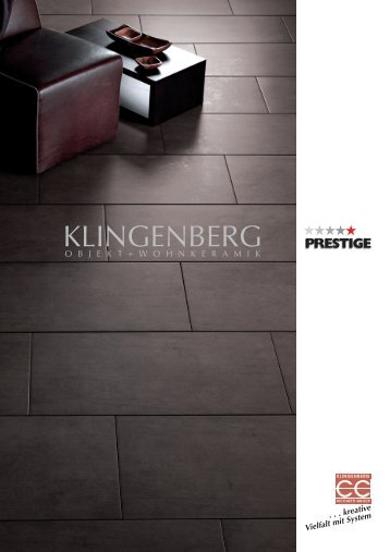 Aktueller Prospekt (5115 MB) - Klingenberg Dekoramik