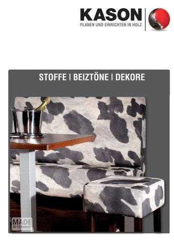 STOFFE   BEIZTÖNE   DEKORE - Kason