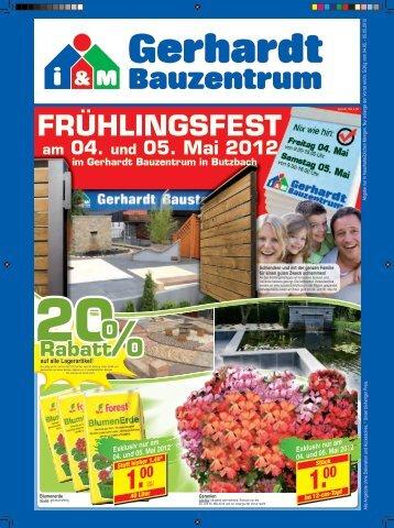PDF zum Download - Gerhardt Bauzentrum