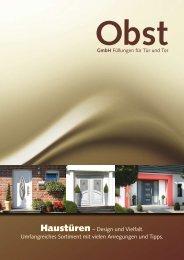 Haustüren – Design und Vielfalt. Umfangreiches ... - Grand Pol