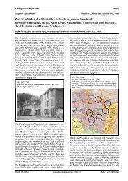 Zur Geschichte der Glashütten in Lothringen und Saarland ...