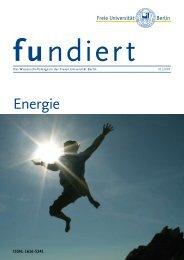 Energie - Freie Universität Berlin