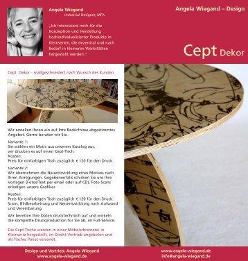 Cept Dekor - Angela Wiegand-Design