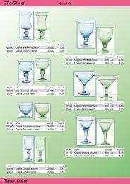 EiKo-Gläser Gläser, Dekor - Gusto AG