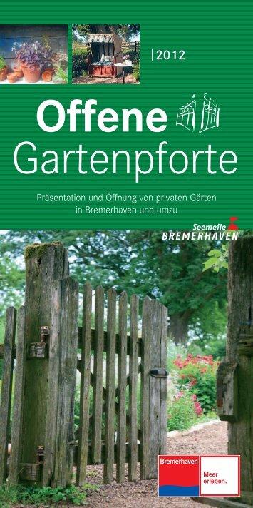 Offene Gartenpforte - Offene Pforten in Niedersachsen
