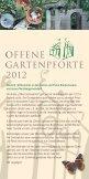 Offene Gartenpforte - Offene Pforten in Niedersachsen - Seite 2