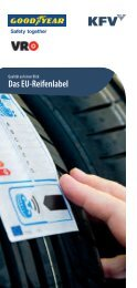 Das EU-Reifenlabel - Sigwald