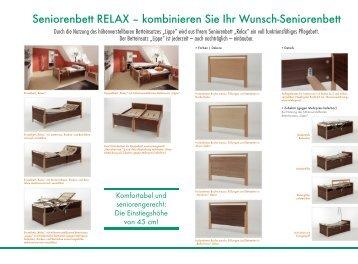 Seniorenbett RELAX - Sanitätshaus Burbach + Goetz