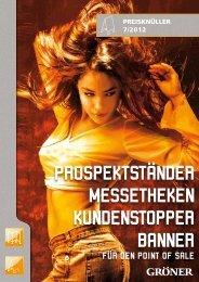 Preisknüller (pdf) - Karl Gröner GmbH