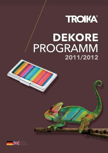 Dekore Programm_B2C_2011 2012_deu engl.indd - troika