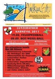 Ausgabe 6/2011 - Verbandsgemeinde Ulmen