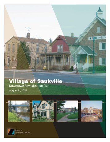 Downtown Revitalization Plan - Village of Saukville