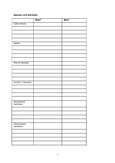 Runder geburtstag checkliste