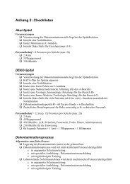 Anhang 2: Checklisten - Logistikbasis der Armee LBA