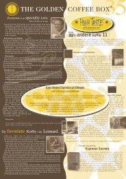 Direct Trade In De Kop - The Golden Coffee Box