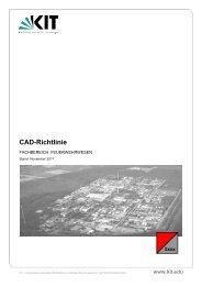 CAD-Richtlinie Feuerwehr, November 2011 - KIT - TID