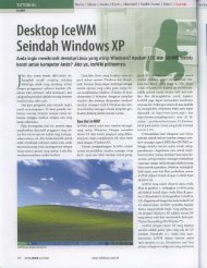 Desktop lceWM Seindah Windows XP - Batan
