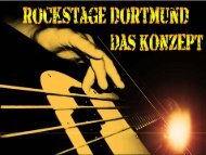 Folie 1 - Rockstage Dortmund