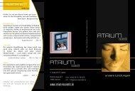 Preisliste (PDF) - Atrium-Kosmetik.de