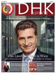Das Ländle zu Gast in Wien - der Deutschen Handelskammer in ...